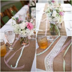 Horse Farm Wedding Table Details