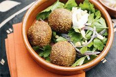 A Lebanese specialty, these mouth-watering deep-fried meatballs are stuffed with spiced lamb and pine nuts.