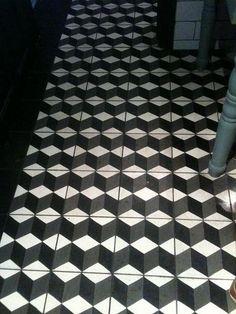 Inspiração de mosaicos hidraulicos