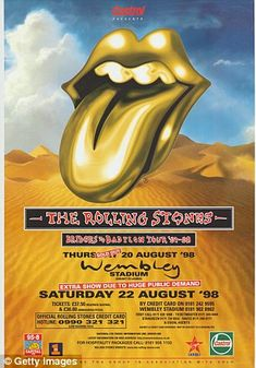 Fifty Years of Rolling Stones Tour Posters - Flashbak Rolling Stones Album Covers, Rolling Stones Tour, Mick Jagger, Recital, Pop Posters, Music Posters, Event Posters, Rolling Stones Keith Richards, Stone Pictures