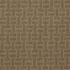 """Carpeting by Shaw Floors in style """"Montecito"""" color Bombay - classic small scale geometric - with the best neutral color!"""