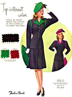 My Puzzles - Vintage Stuff - 1940s Women's Fashion