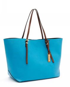 Michael Kors Handbags Sale Gia Ew Tote Turquoise Leather