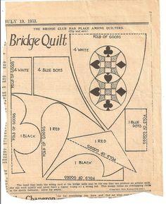 Bridge quilt
