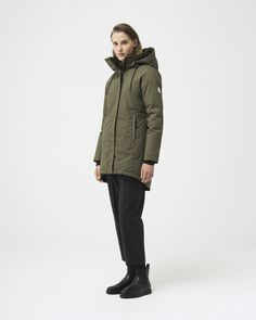 Military Green, Military Jacket, White Ducks, Duck Down, Fur Collars, Shop Now, Fitness Models, Bomber Jacket, Winter Jackets
