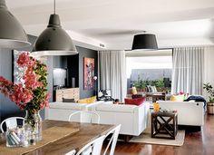 casa relajada y luminosa salón