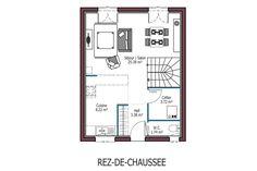 Plan maison plein pied 2 chambres plan maison en 2019 house plans house et architecture - Mca maisons de la cote atlantique ...