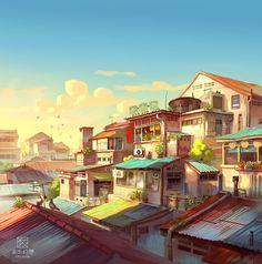 Great Cyberpunk - Anime City concepts for Lego! Background Drawing, Animation Background, Couples Anime, Anime City, Anime Scenery Wallpaper, Design Poster, Environment Concept Art, Market Environment, Art Station