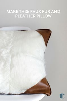 5107 best diy decor and furniture projects images on pinterest in are you faux real how to make a fake fur pillow with faux leather accents fur pillowaccent pillowseasy diy projectsfurniture solutioingenieria Choice Image
