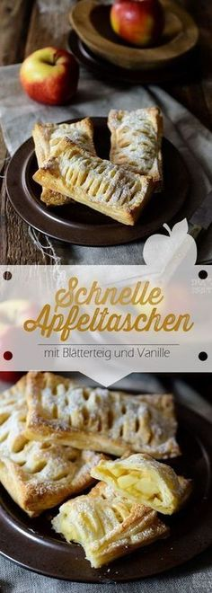 Rezept für schnelle Apfeltaschen mit Blätterteig und Vanille Recipe for quick apple puffs with puff pastry and vanilla The post Recipe for quick apple puffs with puff pastry and vanilla & Backen & Torten, Kuchen & Gebäck appeared first on Desserts . Vanilla Recipes, Cream Recipes, Cake Recipes, Dessert Recipes, Puff Pastry Recipes, Apple Desserts, Pumpkin Spice Cupcakes, Food Cakes, Breakfast Recipes