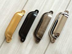 Möbel Griffe Schubladen Griff  Gold Antike Schwarz Silber Nickel Stahl Bronze in Möbel & Wohnen, Möbel, Zubehör | eBay