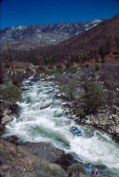 View of upper kern river california california usa for Kern river fishing spots