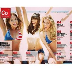 This is a 14 page swimsuit spread in UFC360 Magazine with 3 gorgeous models and True Honor's Bikini line. Prominent model @Chrissy Blair is looking gorgeous in True Honor Stars and Stripes hand made crotchet bikini. Photography by the talented @james_law1