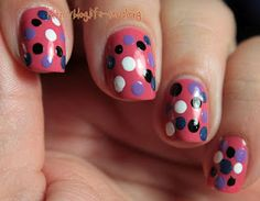 Doticure with Milani polishes