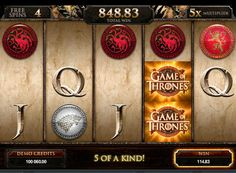 """Spilleautomat Game of Thrones av ekte penger. Microgaming selskapet har gjentatte ganger produsert spilleautomater dedikert til kjente filmer eller TV-serier. Nye spor fra den engelske utvikleren dedikert til den kjente serien """"Game of Thrones"""". På nettspilleautomat Game of Thrones vil appellere til fans av denne etableringen, og alle s"""