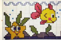 GRAFICOS DE PONTO CRUZ: Barrados em ponto cruz  01