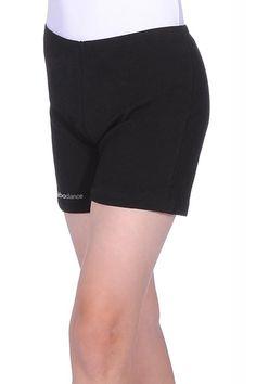 Black Retro Shorts w//Green Trim ExSm /& thigh-high socks