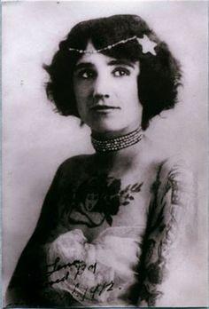 Vintage Tattoo woman
