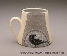 Bird & Vine Mug- Ruchika Madan