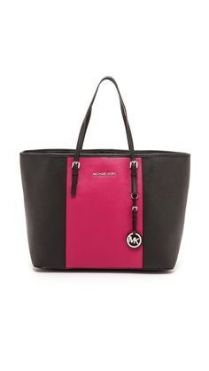 Michael Kors Center Stripe Travel Tote   https://www.shopbop.com