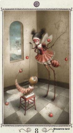 Tarot 44 - © Nicoletta Ceccoli