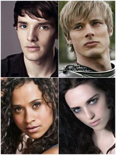 Colin, Bradley, Angel and Katie ~ Merlin