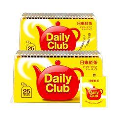 NITTOH-KOCHA-Daily-Club-Japanese-Black-Tea-Teabags-Made-in-Japan7 Japanese Green Tea Matcha, Matcha Green Tea, Tea Japan, Uji Matcha, Japan Country, Milk Tea, Tea Pots, Herbalism, Club