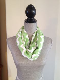 Chevron Microfleece Infinity Scarf in Light Green: $15.00   This scarf is made from a microfleece that feels very light and soft against your skin. Your Skin, Chevron, Infinity, Feels, Green, Fashion, Moda, La Mode, Fasion