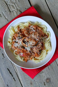 Slow Cooker Chicken Cacciatore recipe - by RecipeGirl.com