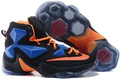 low priced 30ba3 2e2a2 Find 2016 Nike Mens Basketball Sneakers Lebron 13 XIII Black Orange Blue  Red Grey 388675 online or in Lebronshoes. Shop Top Brands and the latest  styles ...