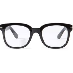 Forever 21 Square Frame Readers ($5.90) ❤ liked on Polyvore