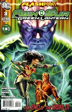 Flashpoint: Abin Sur - The Green Lantern (DC, 2011) #3 (of 3)