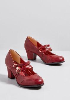 a232005fbf0 Message Retrieved Mary Jane Heel. Red Mary Jane ShoesCute ...