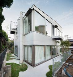 Oyamadai House / frontofficetokyo - Japan