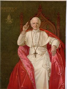 St. Leo XIII of the St. Michael Prayer and lover of the rosary