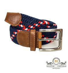 Cinturón trenzado elástico de hombre (Maletas y Carteras) 3e2eab728bfc