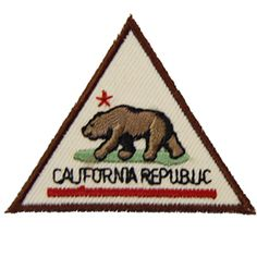 GSSD CALIFORNIA PATCH FOR GIRL SCOUT BROWNIES-badge requirements included with order
