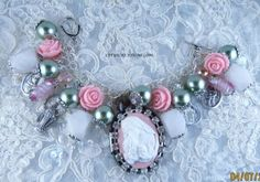 Mothers-Love-Catholic-Virgin-Mary-Saints-Catholic-Medals-Handmade-Bracelet  #catholic #jewelry #cameo #virginmary #gemstones http://stores.ebay.com/LETYS-CREATIONS
