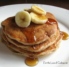 For the Love of Cooking » Cinnamon Banana Pancakes