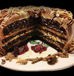 Tort cu crema de cafea si ciocolata | Rețete Papa Bun Something Sweet, Cake Recipes, Deserts, Food And Drink, Ice Cream, Sweets, Cookies, Caramel, Sweet Treats