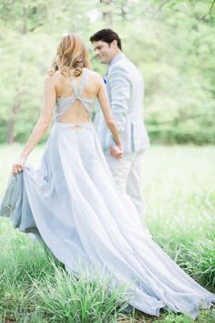 Custom gown by Fame & Partners. Photography: Sally Pinera - sallypinera.com