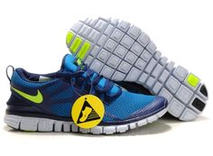 super popular 4091d 47fe6 Nike Free Run 3.0 V3 Men Shoes Blue Black Green  sportswear