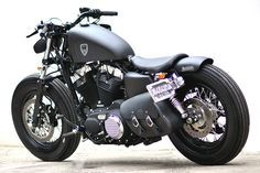 Studio Motor Harley-Davidson Sportster Forty-Eight. I have no idea what that means, but this is still cool.