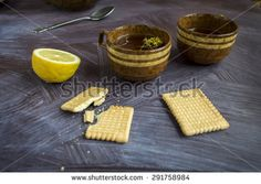 Tea in the morning - stock photo