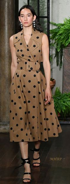 Ladies Polka Dot Large Vintage Work Brief Case Girls Fashion Shoulder bags New