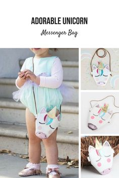 209c745aa Sweetest cross body mini bag ever. Adorable unicorn on front. Add to style  up