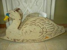 antique child rocking swan chair