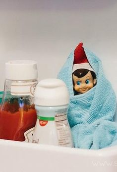Love these cute ideas for Elf on the Shelf!