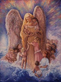 Angel Of Children ~ Art Of Josephine's Wall