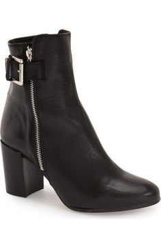 Topshop 'Mega Buckle' Bootie (Women) available at #Nordstrom